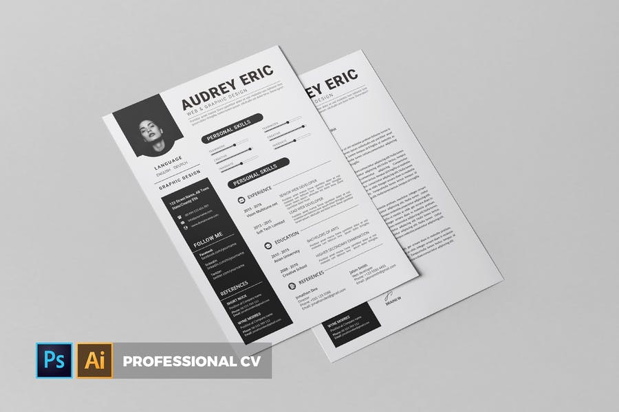 Professional   CV & Resume
