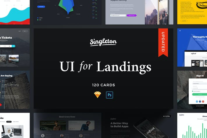 Thumbnail for Singleton UI Pack
