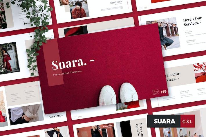Thumbnail for SUARA - Fashion Google Slides Template