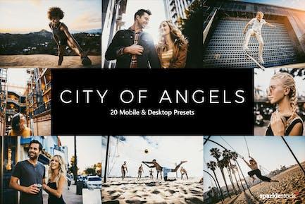 20 City of Angels Lightroom Presets & LUTs