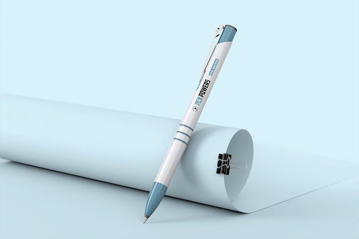 Thumbnail for Ballpoint Pen Mockup