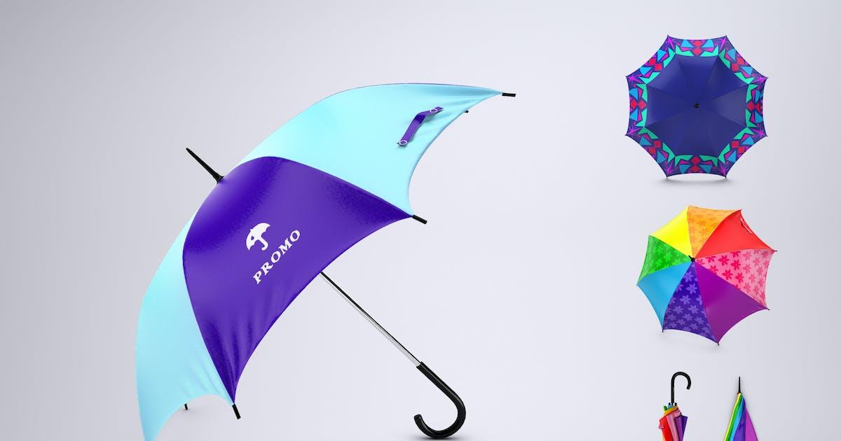 Download Promotional Umbrella Mock-Up by Sanchi477