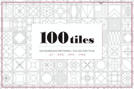 100 Fliesenmuster
