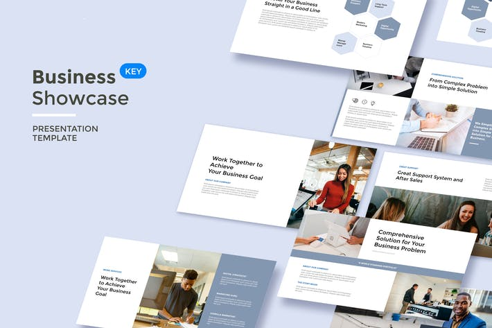 Thumbnail for Business Showcase - Keynote Template