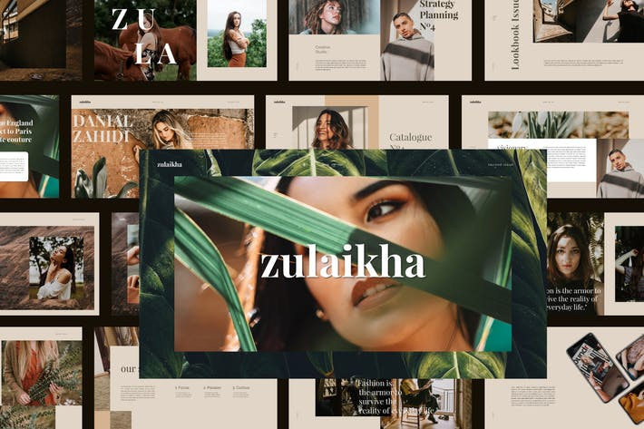 Thumbnail for Zulaikha - Powerpoint Template