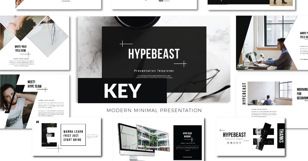 Download Hypebeast Business Keynote - LS by templatehere