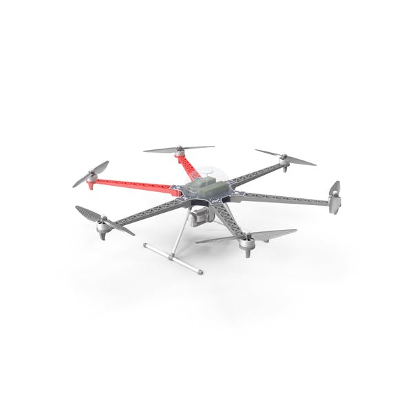 Multi-Rotor Aerial Platform With Camera Gimbal