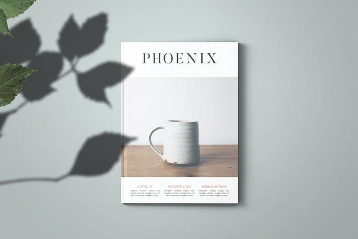 Thumbnail for Phoenix Magazine Template