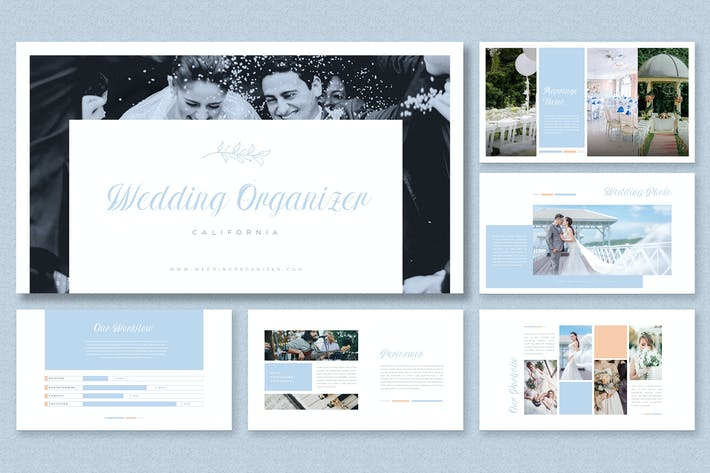 Thumbnail for Elegant White Theme-Wedding Organizer Presentation