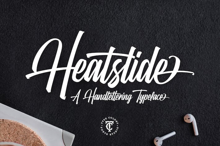 Thumbnail for Heatslide Font