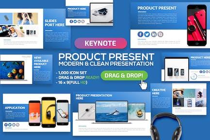 Презентация Keynote продукте