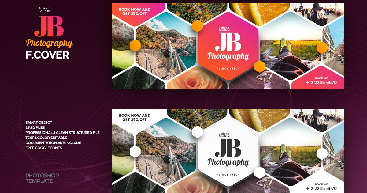 Download Photography Facebook Cover Template by youwes
