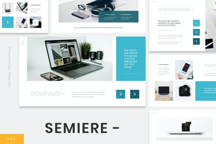 Thumbnail for Samiere - Technology Google Slides Template