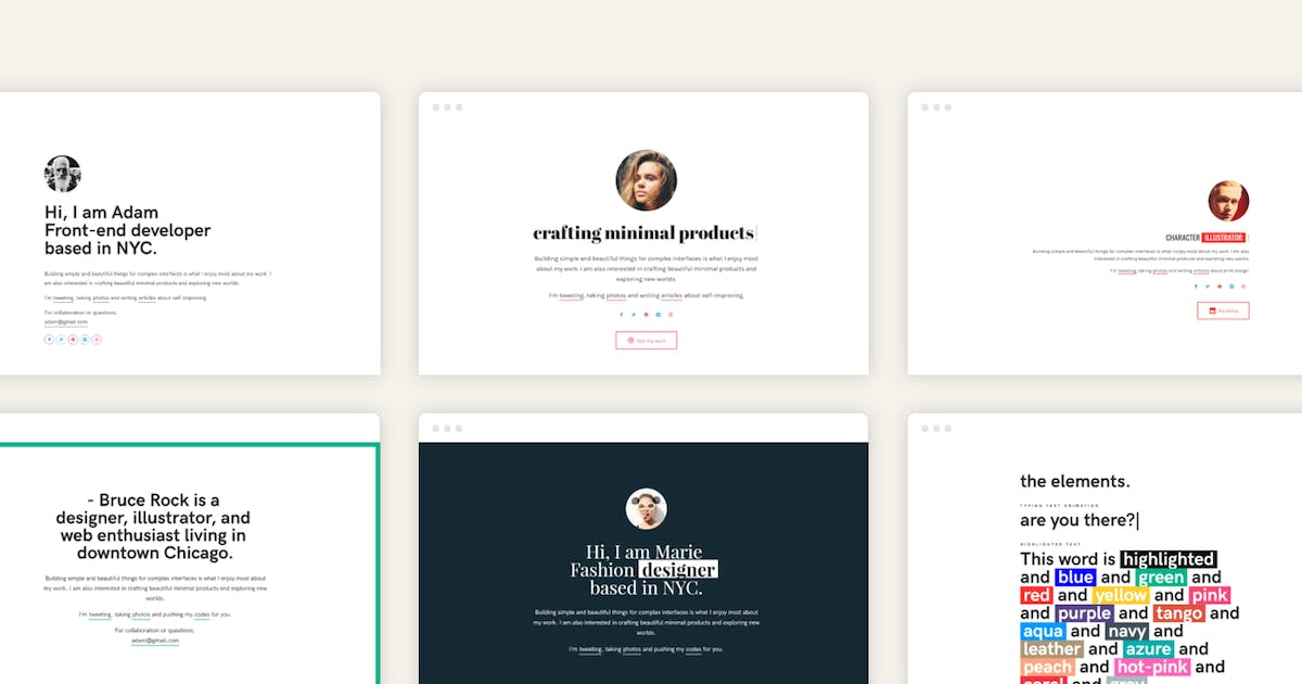 Download LazyGuy - Personal Landing Page Template by pixelwars