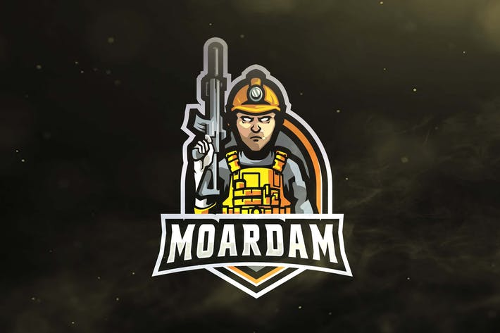 Thumbnail for Miner Army Sport and Esports Logos