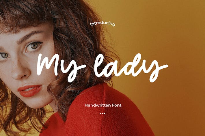 Thumbnail for My Lady - Handwritten Font