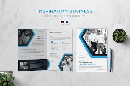 Inspiration Business Bifold Brochure