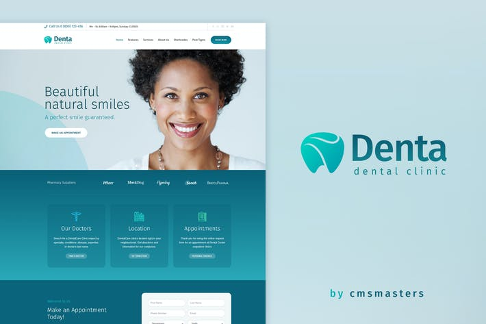 Thumbnail for Denta - Dental Clinic WP Theme