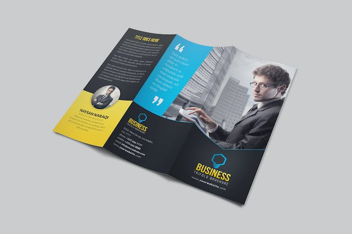 Thumbnail for Business Trifold Brochure Vol 2
