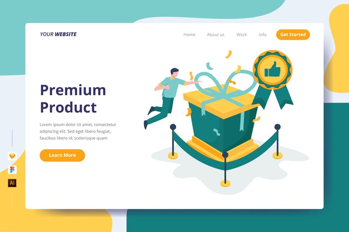 Thumbnail for Premium Product - Landing Page