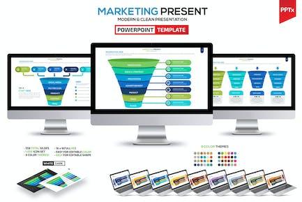 Marketing & Funnel Powerpoint