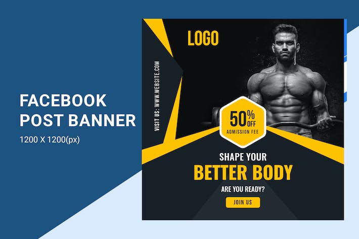 Thumbnail for Gymnasium / Fitness  Offer banner
