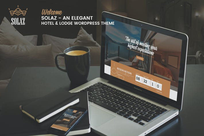 Thumbnail for Solaz - An Elegant Hotel & Lodge WordPress Theme