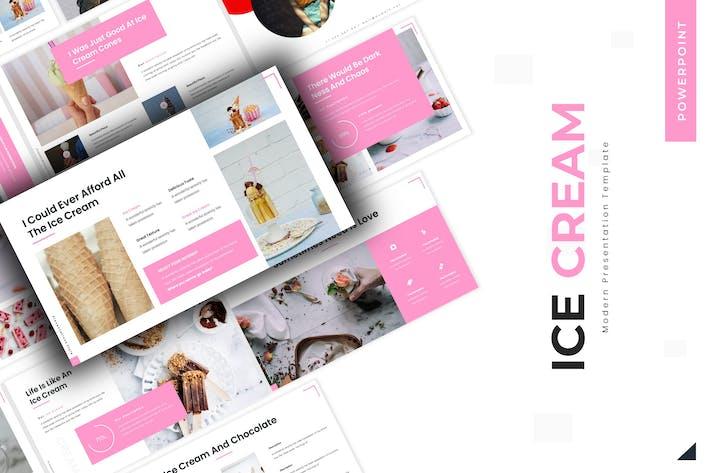 Thumbnail for Сладкое мороженое - Powerpoint Шаблон
