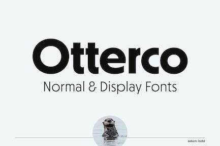 Otterco Familia tipográfica