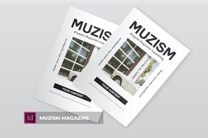 Thumbnail for Muzism | Magazine Template