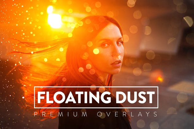 75 Floating Dust Overlays