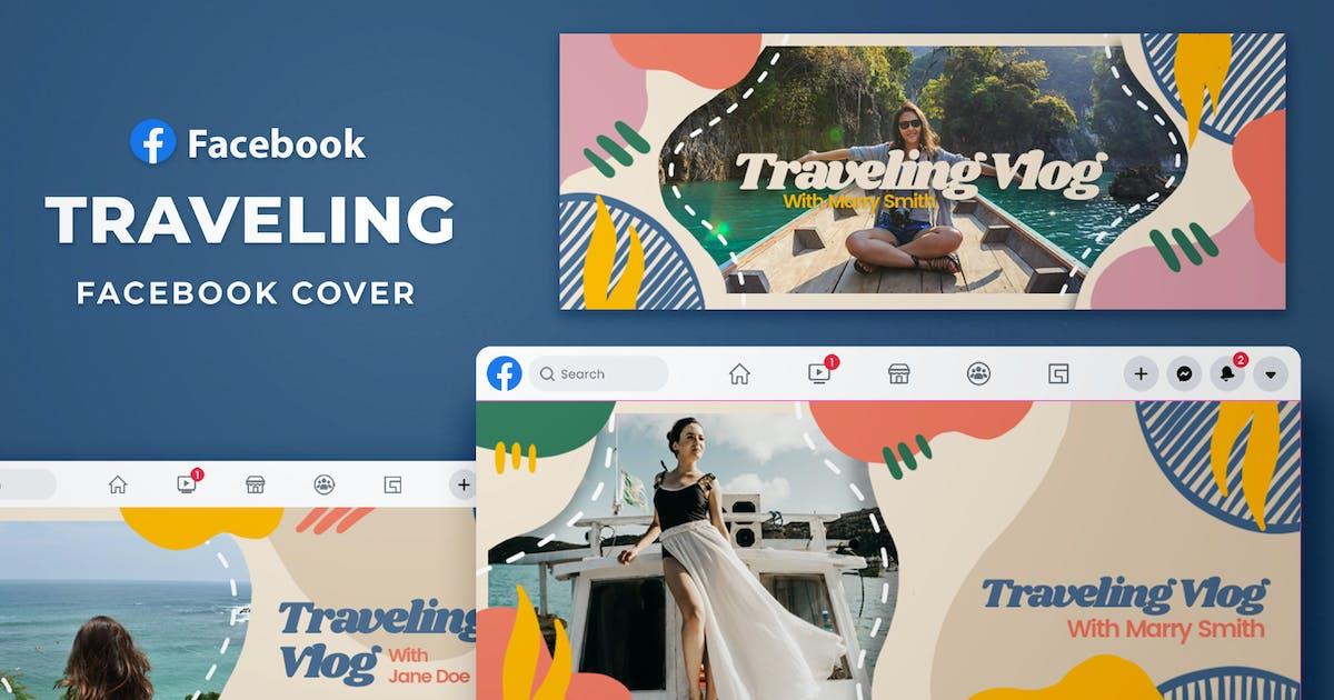 Download Facebook Cover - Traveling Vlog by SlideFactory