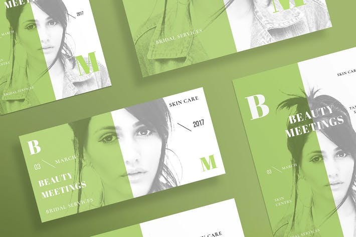 Thumbnail for Beauty Salon Flyer and Poster Template