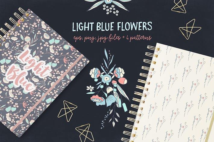 Thumbnail for Light Blue Flowers