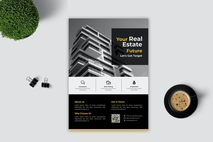 Thumbnail for Real Estate Flyer Vol. 5