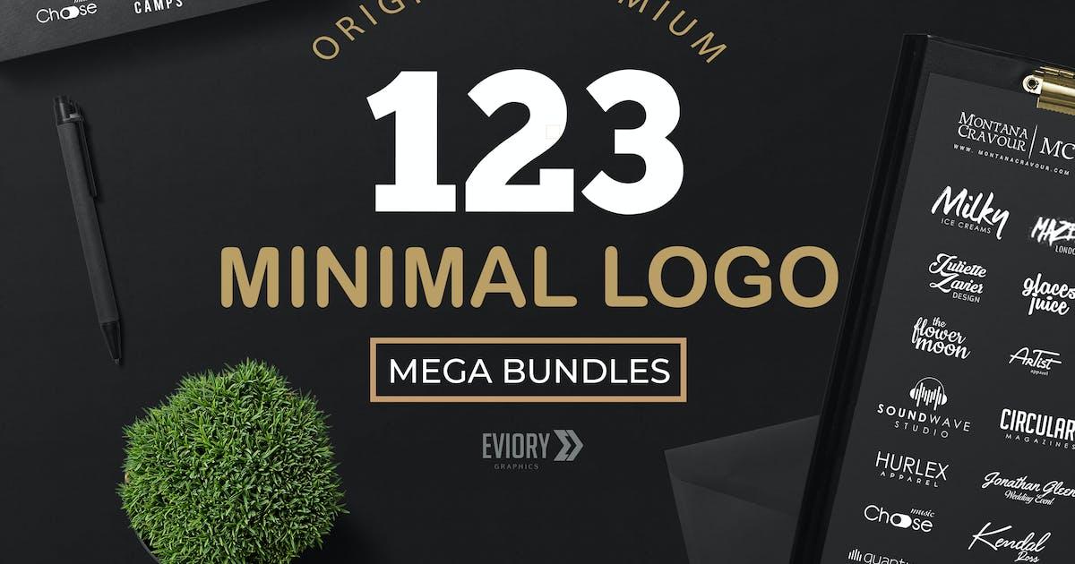 Download 123 Minimal Logo bundle by eviory
