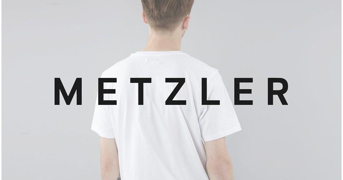 Download METZLER Minimal Sans-Serif Typeface + Web Font by designova