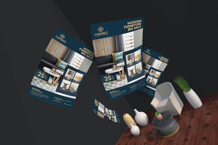 Thumbnail for Furnibest Flyer Template