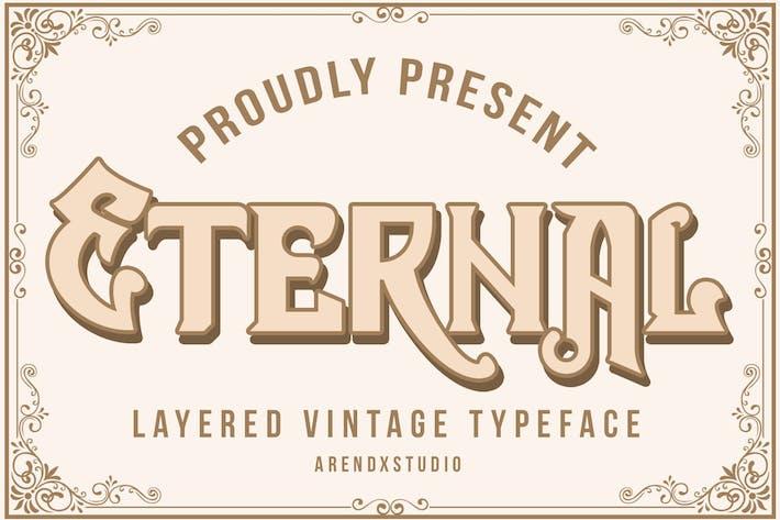 Thumbnail for Tipografía de capa eterna Vintagge