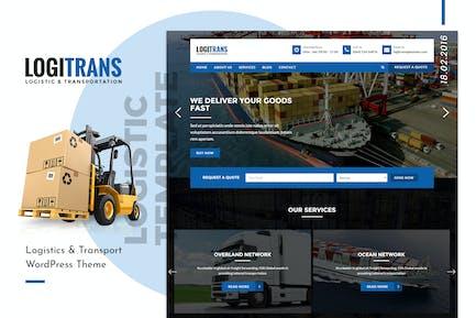 LogiTrans | Logistic and Transportation HTML
