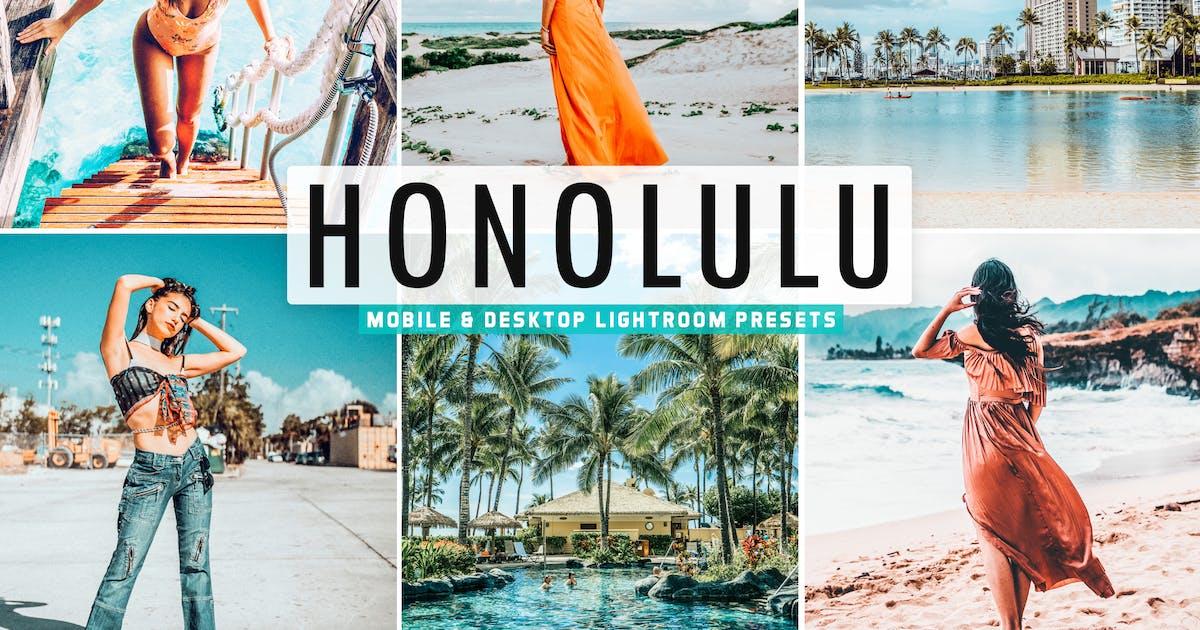 Download Honolulu Mobile & Desktop Lightroom Presets by creativetacos