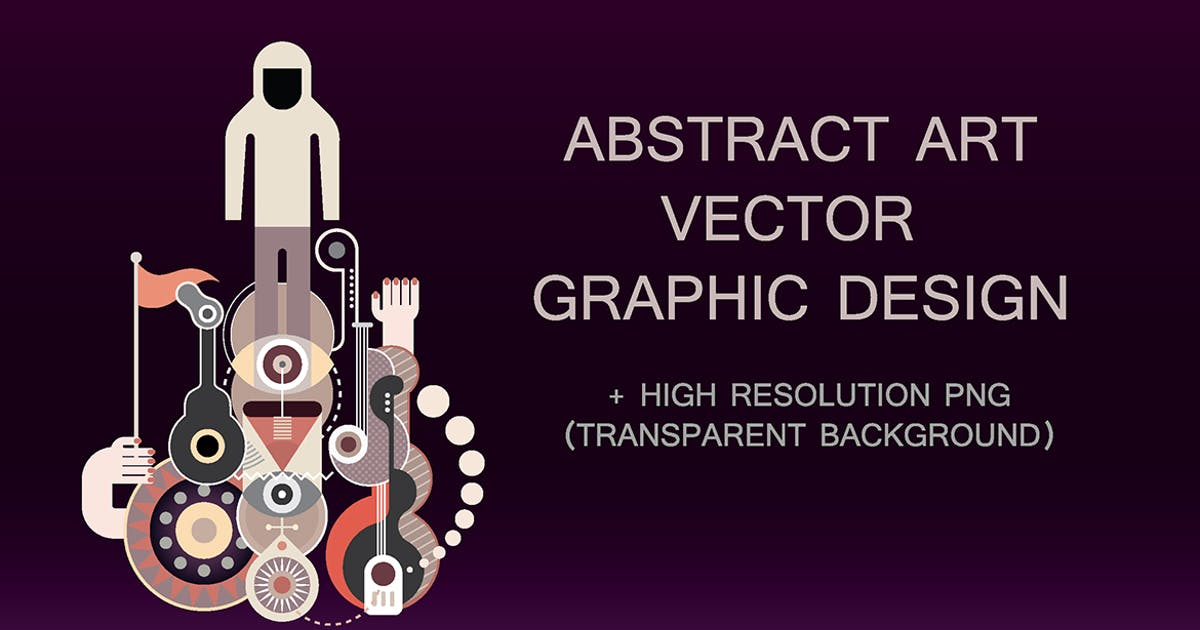 Abstract Art vector composition by danjazzia