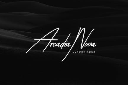 Arcadia-Nova Handwritten / Luxury / Script Font