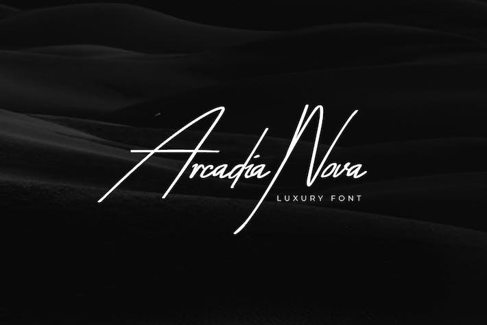 Thumbnail for Arcadia-Nova Handwritten/Luxury/Script Font