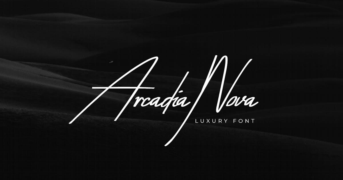 Download Arcadia-Nova Handwritten / Luxury / Script Font by designova