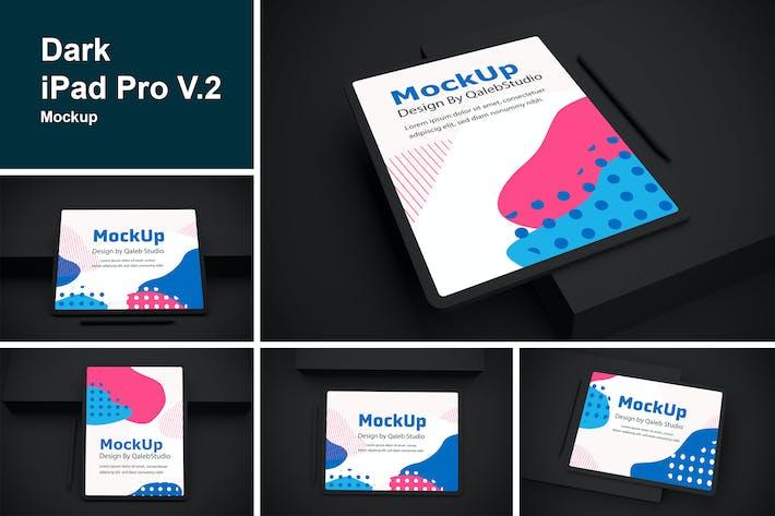 Thumbnail for Dark iPad Pro V.2 Mockup