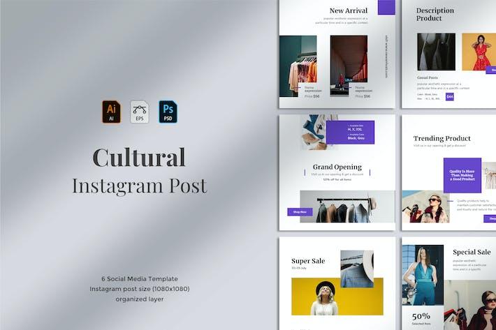 Thumbnail for Cultural - Social Media Post 01