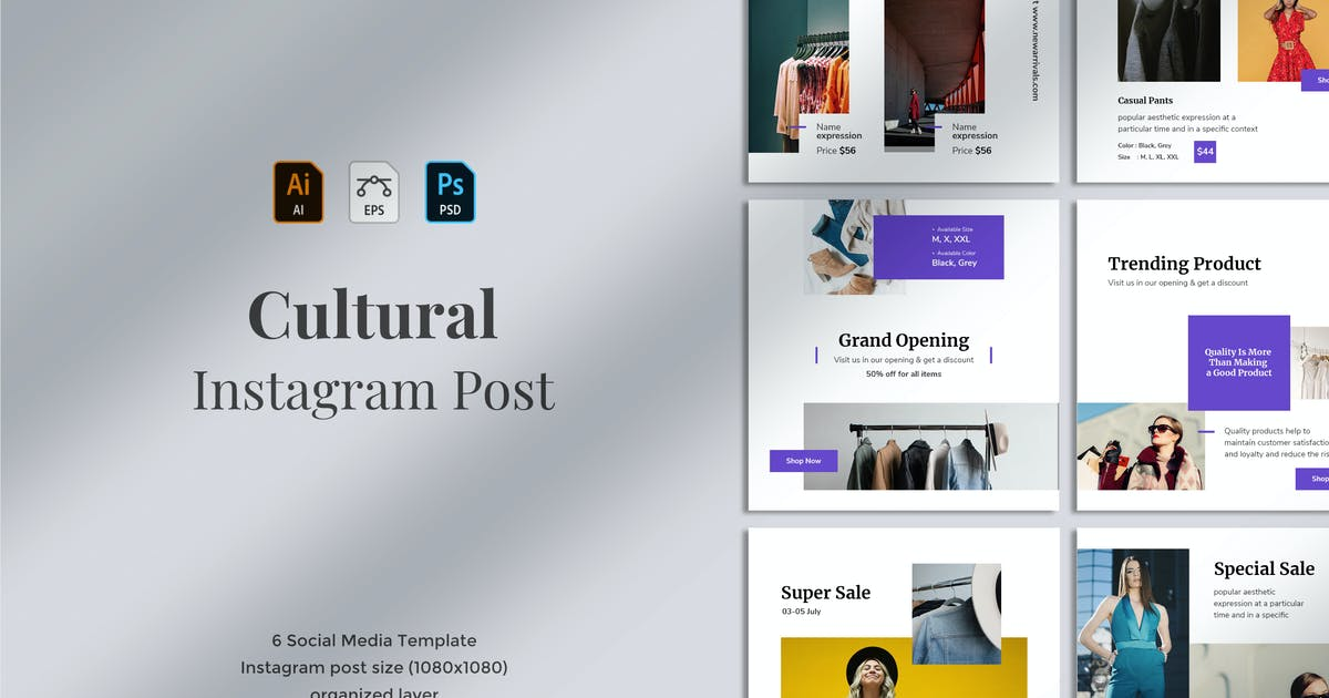 Cultural Social Media Post 01 By Mursyiduchy On Envato Elements