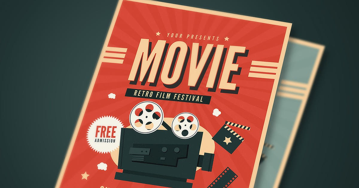 Download Old Retro Movie Festival by Guuver