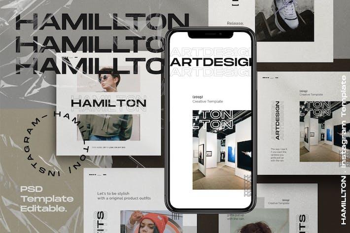Hamilton Pack 2 - Urban Fashion Instagram + histoires